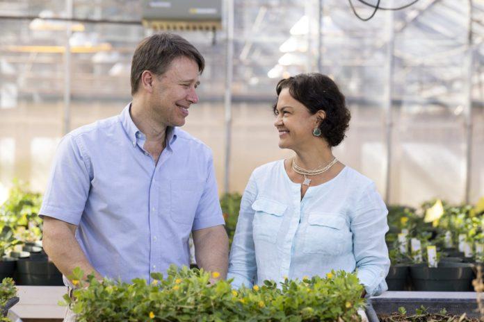 David Bertioli and his wife, Soraya Leal-Bertioli,